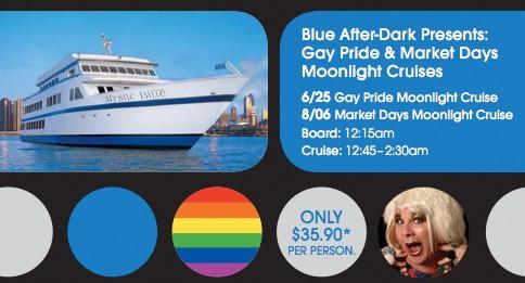 Gay Pride Moonlight Cruise w/Miss Foozie