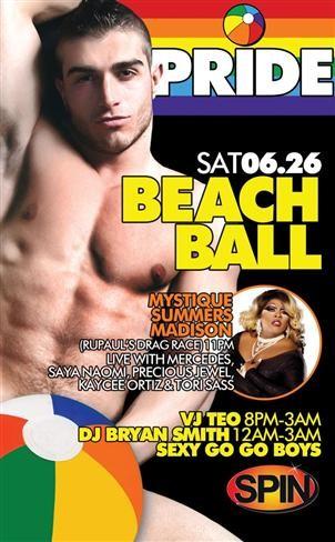 Spin's Pride Beach Ball